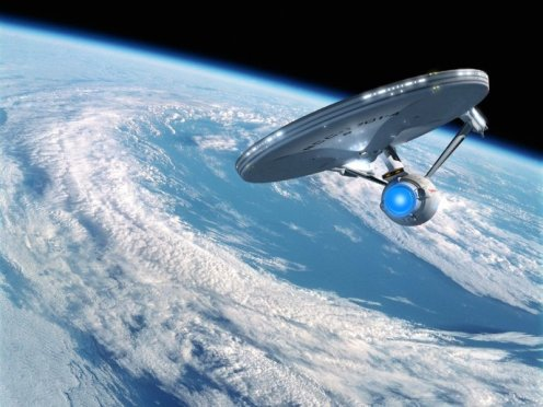 Star_Trek_wallpaper_USS_Enterprise_in_Earth_orbit_computerdestkop_s